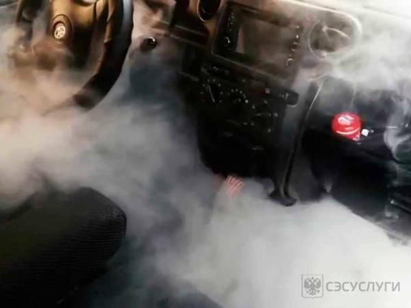 Дезодорация авто